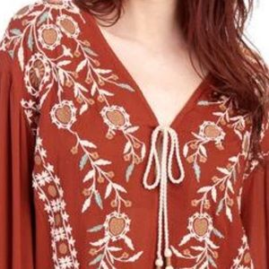 NWT Free People Balloon Sleeve Tunic. Small